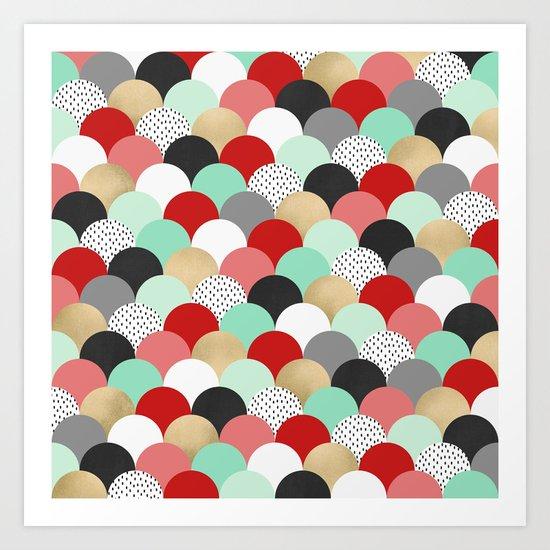 Gumdrops Art Print