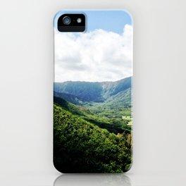 KAHANA VALLEY iPhone Case