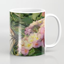 Monarch Butterfly Abstract Coffee Mug