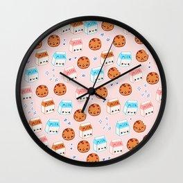 Milk n cookies Wall Clock