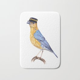 Monsieur thrush Bath Mat