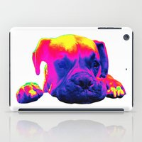 boxer iPad Cases featuring Boxer by Ty McKie Creations