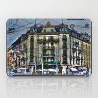 switzerland iPad Cases featuring Geneva -  Switzerland by Vehen§Nes