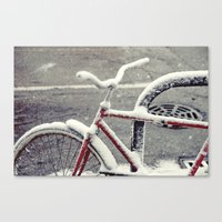 cycle Canvas Prints featuring Cycle by Kiersten Marie Photography