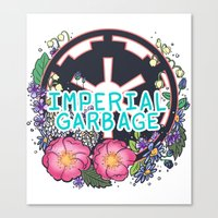 enerjax Canvas Prints featuring Imperial Garbage by enerjax