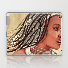 Wind in her hair Laptop & iPad Skin