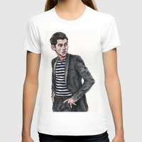 alex turner T-shirts featuring Alex Turner  by vooce & kat