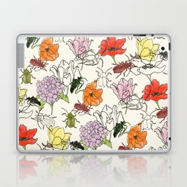 bugs -n- flowers Laptop & iPad Skin