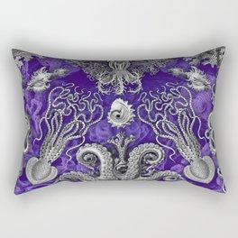 The Kraken (Purple) Rectangular Pillow