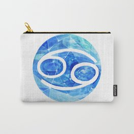 Cancer . Sign of the zodiac. Carry-All Pouch