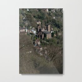 St Luke's Church Ironbridge Metal Print