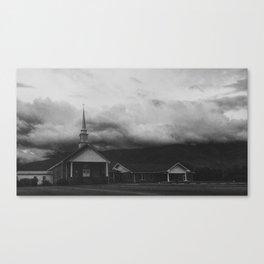 Gritty Church Canvas Print
