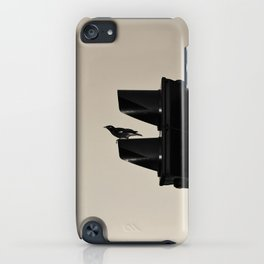 traffic bird iPhone Case