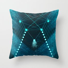 Mystic Space Throw Pillow