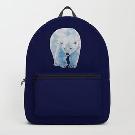 Geometric Polar Bear Backpack