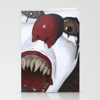 pennywise Stationery Cards featuring Pennywise by Kristen Champion