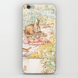 The World of Beatrix Potter illustration iPhone Skin