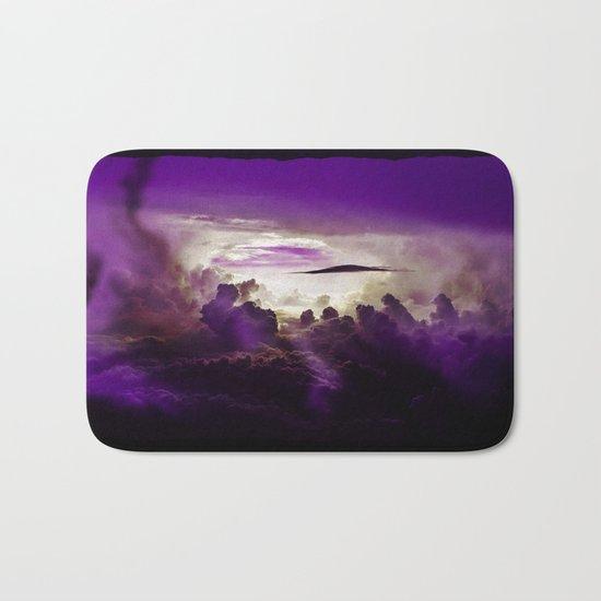 I Want To Believe - Purple Bath Mat