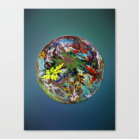 Hippies' Planet Canvas Print