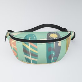 Life is better when you surf 2 Fanny Pack