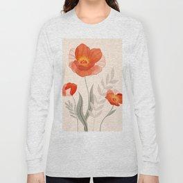 Summer Flowers II Long Sleeve T-shirt