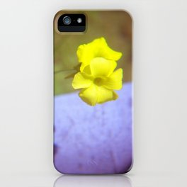 even weeds can be cheerful iPhone Case