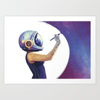 Welcome to my Universe Art Print