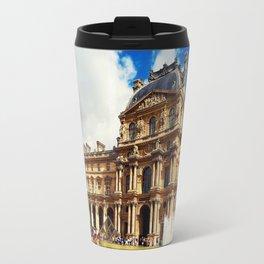 The Louvre museum Travel Mug