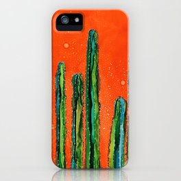 Column Cactus iPhone Case