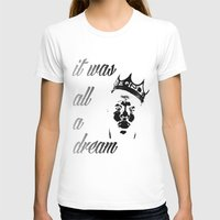 biggie T-shirts featuring Biggie by Callan Convery Design