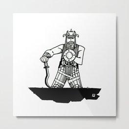 Buckleroo Bonsai Metal Print