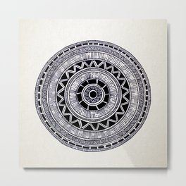 Mandala Creation #6 Metal Print