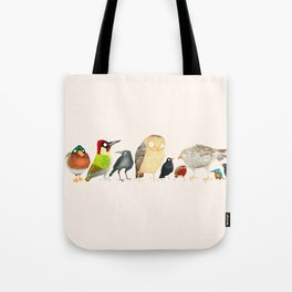 Woodland Bird Collection Tote Bag