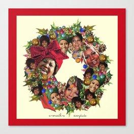 a-wreath-a Canvas Print