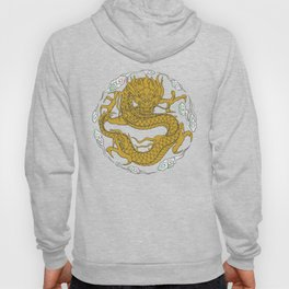 Traditional Gold Dragon Hoody