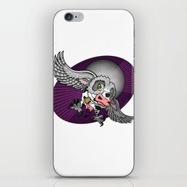 Mutant Zoo - Cowl iPhone Skin