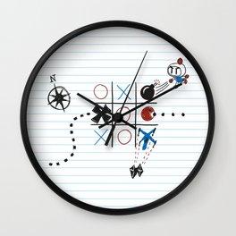 Tic Tac Tedium Wall Clock