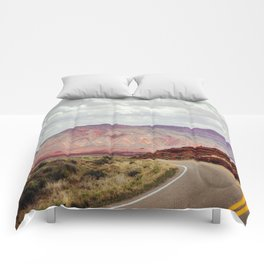 Painted Mountain Comforters