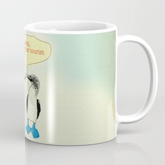Leave Galapagos alone,pls. Mug