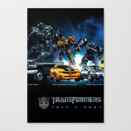 Transformers Poster Canvas Print