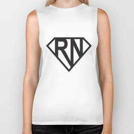 Super Rn Super Nurse Ladies Soft Cute Nurse Girlfriend Wife Gift Nurse T-Shirts Biker Tank