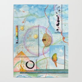 Song for Orange Bellied Parrot Poster