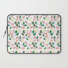 Might As Well Be Spring Pattern (Fixed) Laptop Sleeve