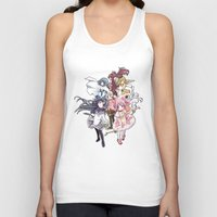 madoka magica Tank Tops featuring Puella Magi Madoka Magica - Only You by Yue Graphic Design