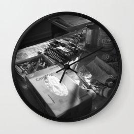 Art Supplies 2 Wall Clock