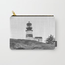 Cape Disappointment Pacific Ocean Washington Northwest Lighthouse Coast Guard Boats Gothic Architect Carry-All Pouch