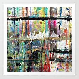 Colorful Bohemian Abstract 3 Art Print