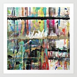 Colorful Bohemian Abstract 3 Art Print