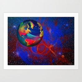 Fractal World Art Print