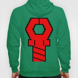 Snapping Claw - red bordered Hoody